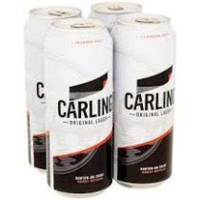 Carling 500ml 4 Cans x 500ml