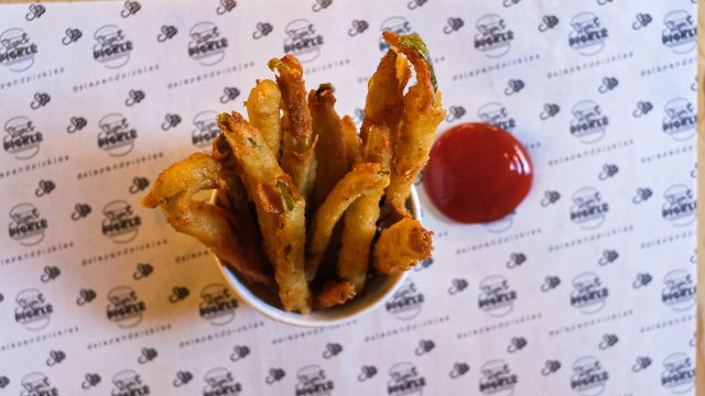 The Notorious DFP: aka Deep Fried Pickles
