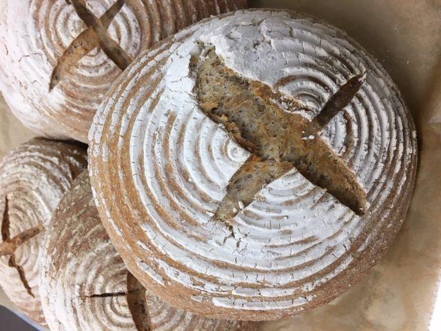 Bread - Pj Taste Two Thirds Sourdough -Min 600G Dispatched Frozen