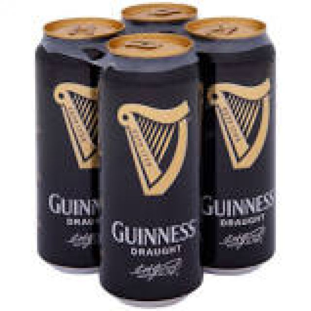Guinness Draught 4 Cans x 440ml