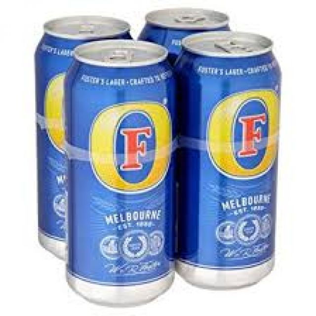Foster 4 Cans x 440ml