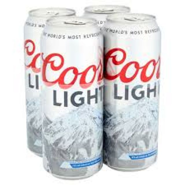 Cools Lights 4 Cans x 500ml