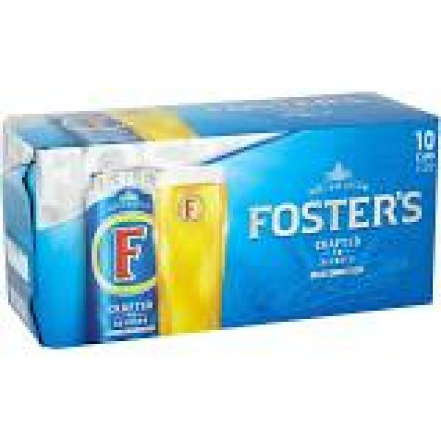 Fosters 440ml - 10 Pack