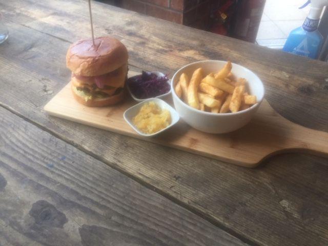 5 oz Beef Burger