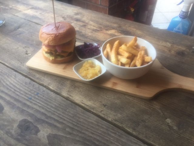 10 oz Beef Burger with cheese