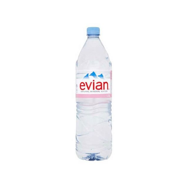 Evian Mineral Water 1.5LTR