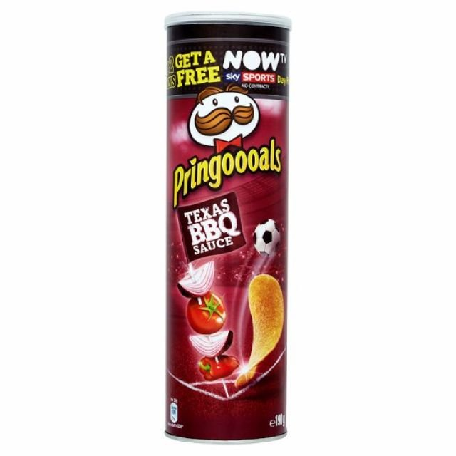 Pringles Texas BBQ Sauce Flavour 200g