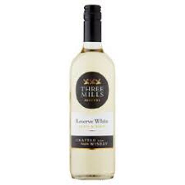 Three Mills Fruity White 75cl