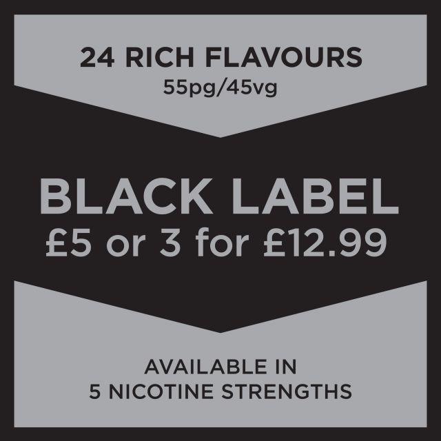 Black Label E-Liquid 10Ml