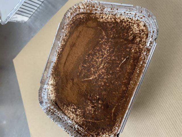 Salted Caramel Fruit & Nut Tiramisu for Sunday lunch (serves2)