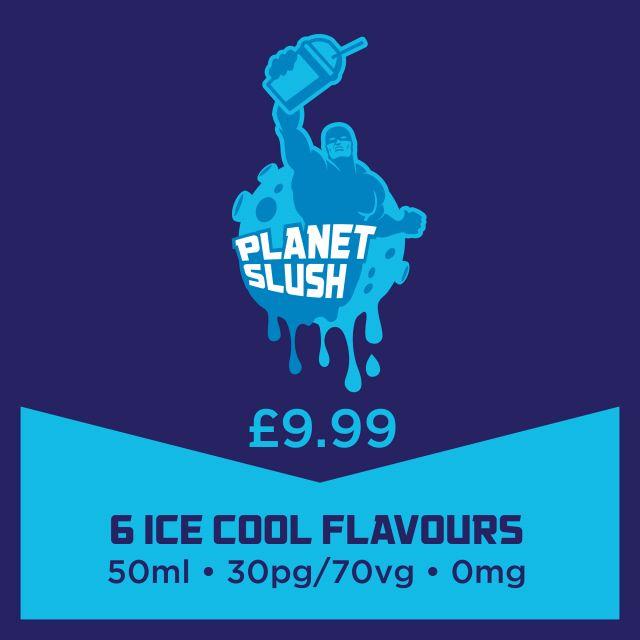 Planet Slush Short-Fills 50Ml *New*