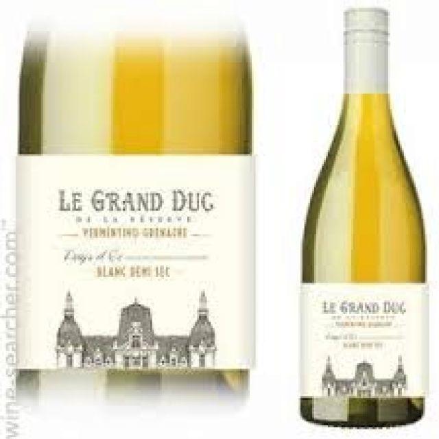 White Wine - Le Grand Duc De La Reserve Vermentino - Grenache - White Wine 12% ABV 750ml