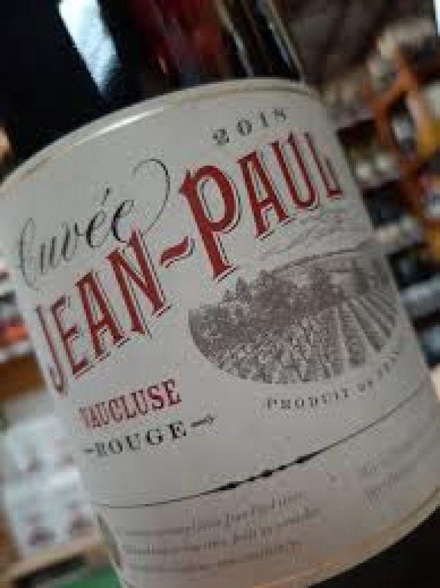Red Wine - Cuvee Jean-Paul - Vaucluse 13.5% Abv