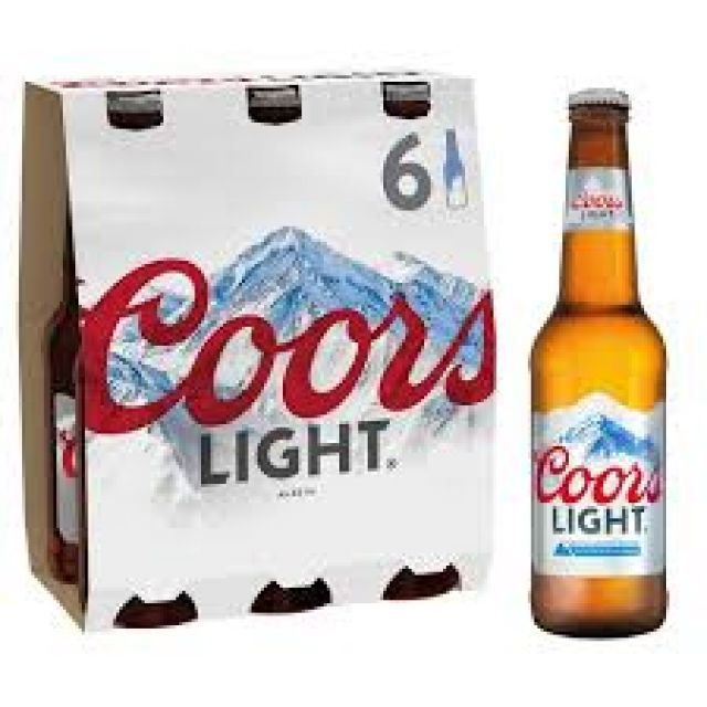 Coors Lights 300ml - 6 Pack