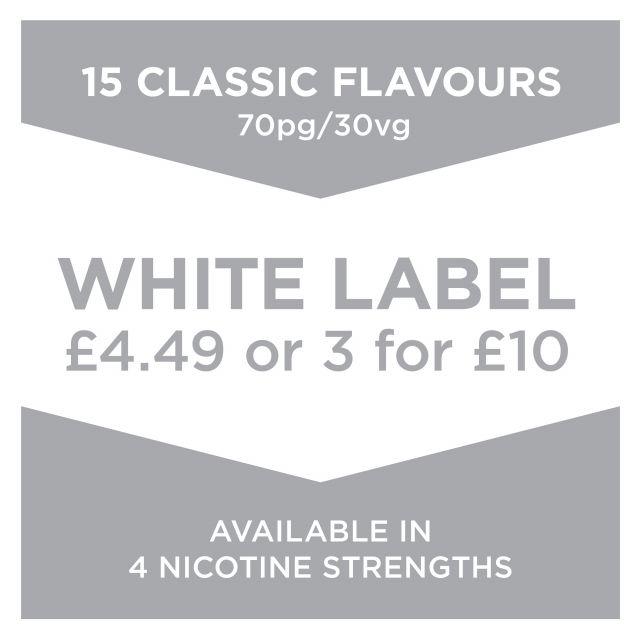 White Label E-Liquid 10Ml