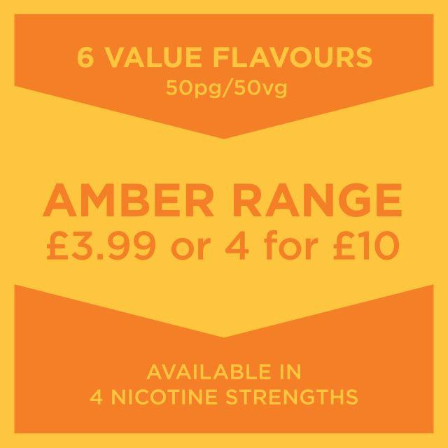 Amber Range E-Liquid 10Ml