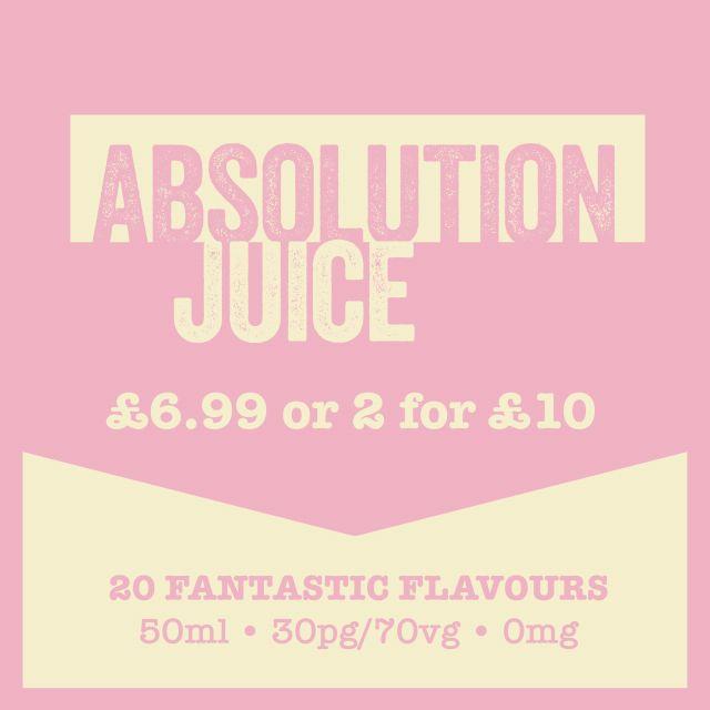 Absolution Juice Short-Fills 2 X 50Ml