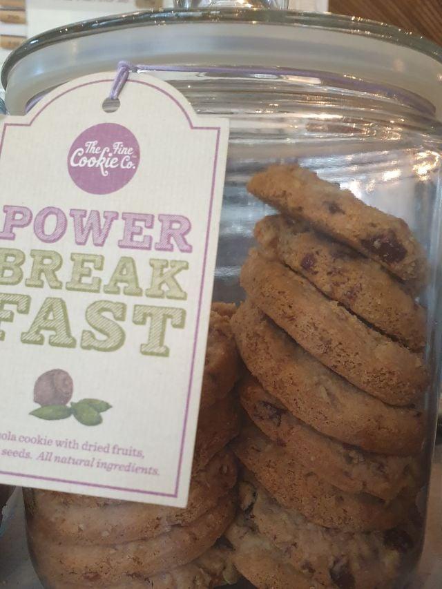 Breakfast power cookie