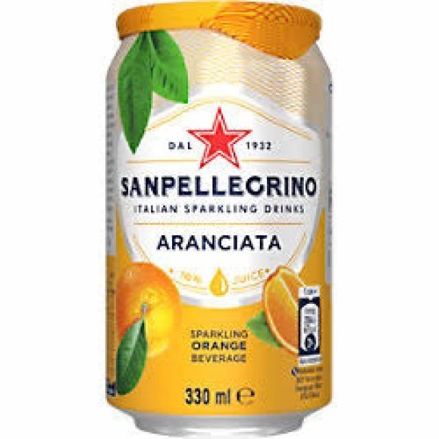 San Pellegrino Orange (Chaat Cart)