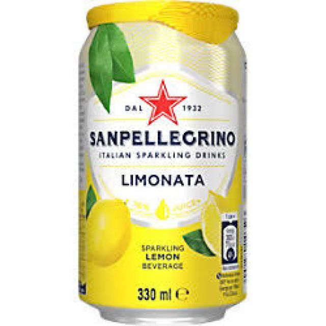 San Pellegrino Lemon (Chaat Cart)