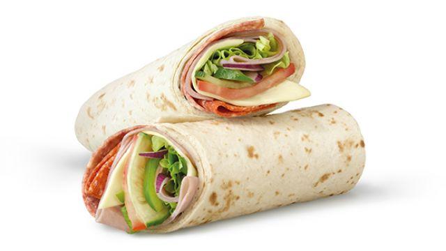 Subway Melt Wrap