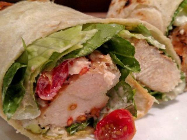 Chicken Pizziola Wrap
