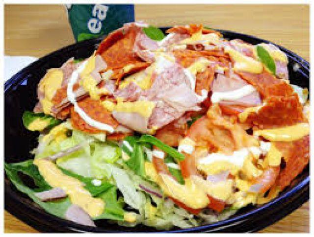Meat Feast Salad