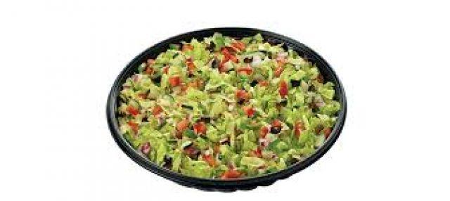 Chicken Pizziola salad