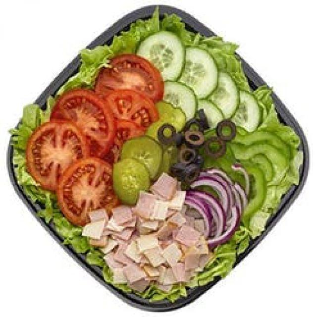 Turkey & Ham salad