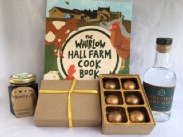 Sheffield Gin, Whirlowhall Farm Cookbook Gift Pack