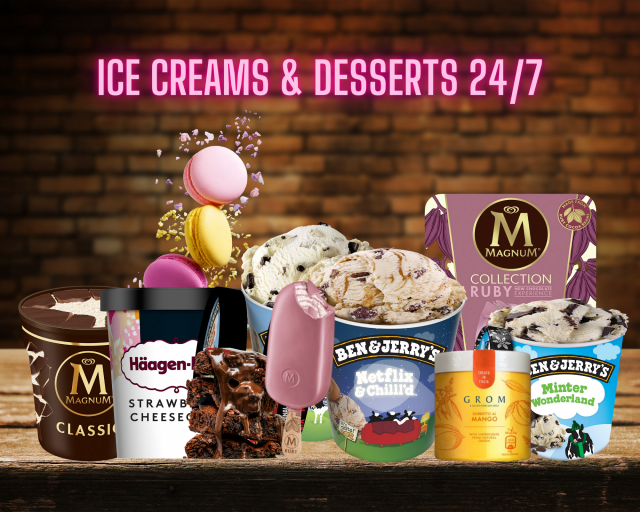 Ice Cream & Desserts 24/7 BP Bramall Lane