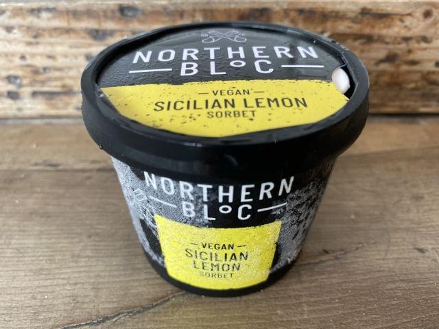 Northern Bloc 100ml Sicilian lemon sorbet (vegan)