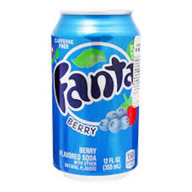 American Fanta Berry 355ml