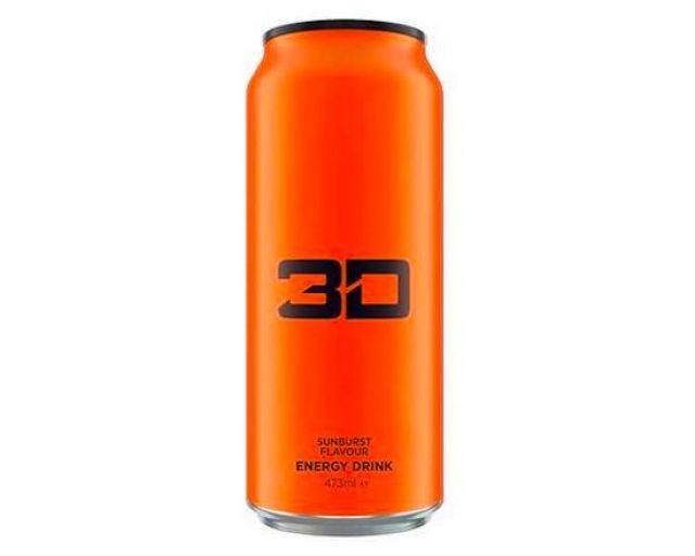 3D Energy Drink Sunburst 473ml