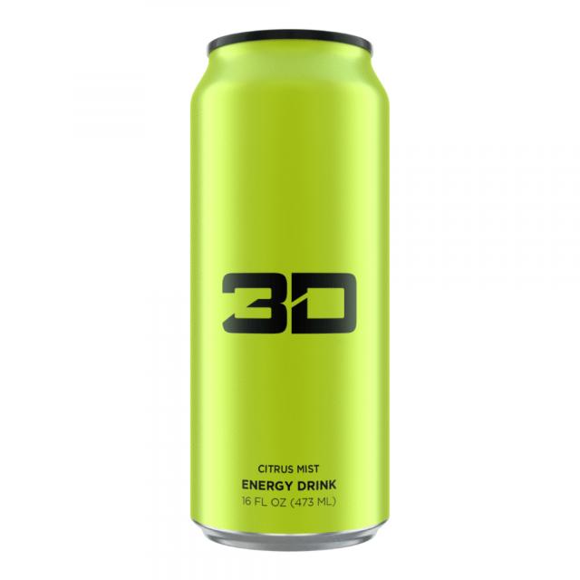 3D Energy Drink Citrus 473ml