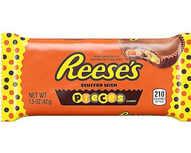 Reese's Peanut Butter Cups with Reese's Pieces 42g