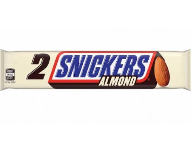 Snickers Almond 2 To Go 94g
