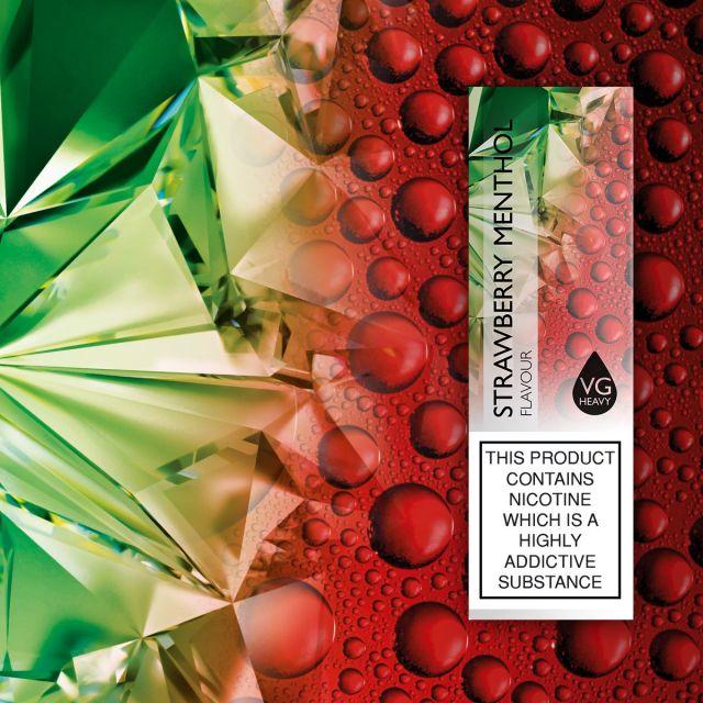 Liberty Flights E-Liquids Mint Strawberry 12mg