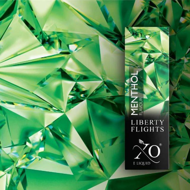 Liberty Flights E-Liquids Juicy Menthol 18mg