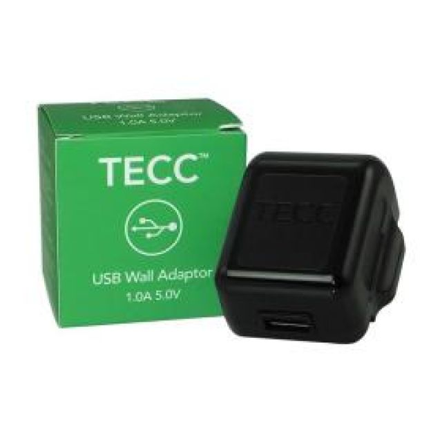 Tecc 1A Usb To Uk Plug Adaptor