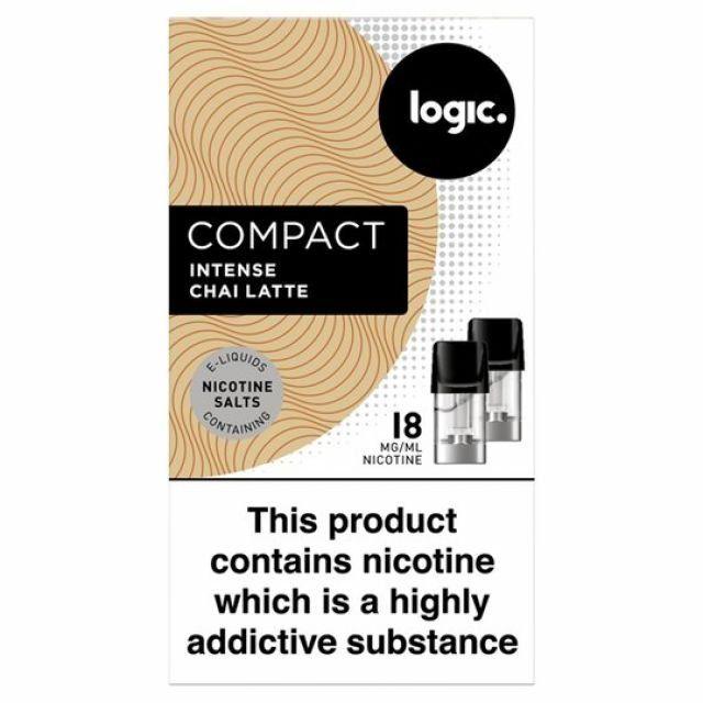 Logic Compact   Intense Chai Latte 18mg