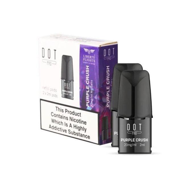 DOT Pro Refill Pods Purple Crush 20mg