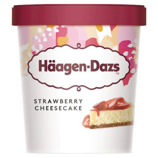 Haagen Dazs Obsessions Strawberry Cheesecake 460ml