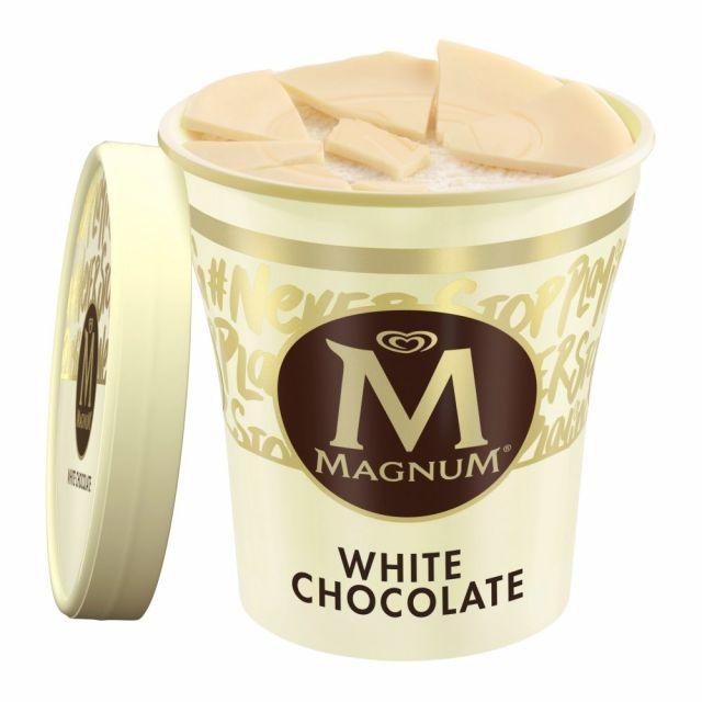 Magnum White Ice Cream Tubs 440ml