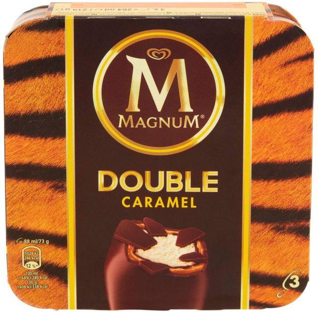 Magnum Double Caramel Multipack 3's