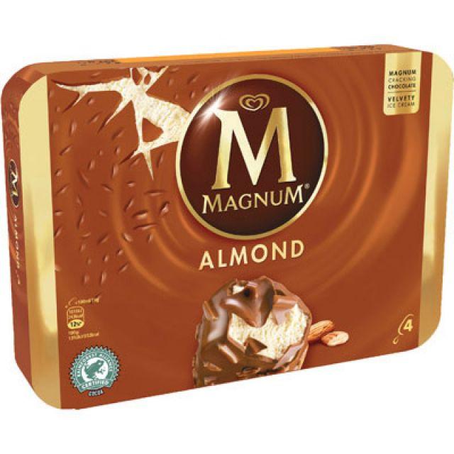 Magnum Almond Multipack 4's