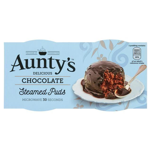 Aunty's Chocolate Fudge Brownie Pudding 2x100g