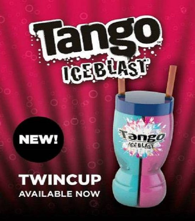 Tango Ice Blast Twister Cup
