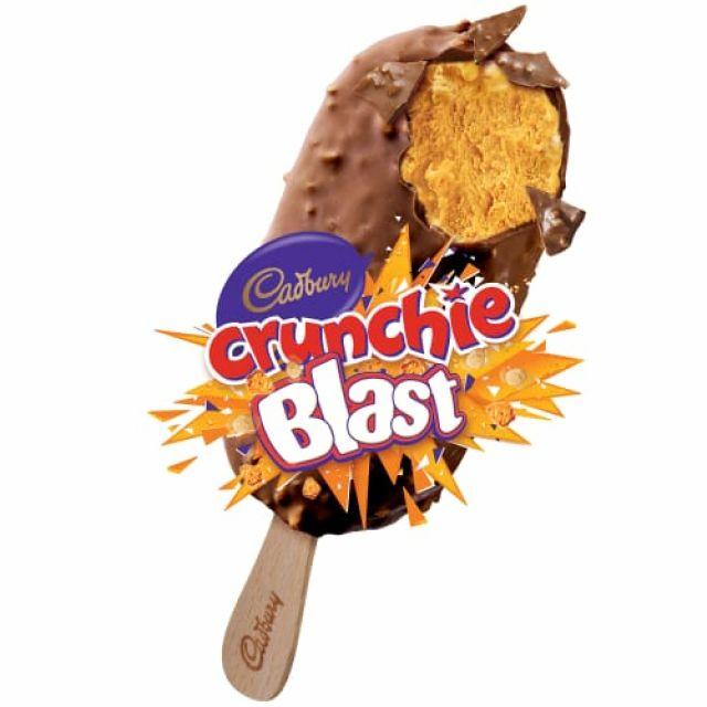 Crunchy Blast Ice cream sgl
