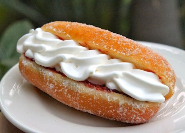 Twin Cream Doughnuts